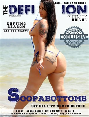 TDM:INK Soopabottom Cover: Oct 2018