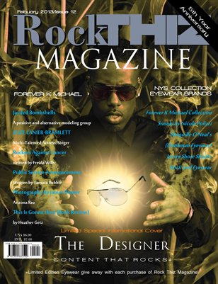 Rock Thiz Magazine Issue #12 Vol.2 Feb 2013 International Cover