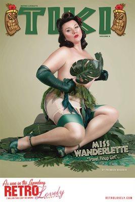 TIKI Volume 9 - Miss Wanderlette Cover Poster