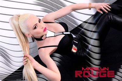 POSTER MARILYN ROUGE