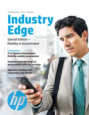 HP Industry Edge: Mobility in Government