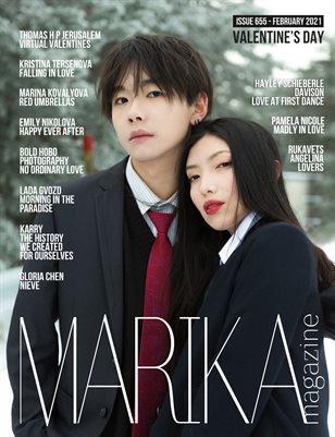 MARIKA MAGAZINE VALENTINE'S DAY (ISSUE 655 - February)