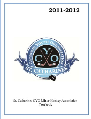 St. Catharines CYO Minor Hockey Association Yearbook 2011-12