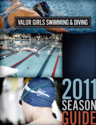 2011-2012 Girls Swimming Season Guide