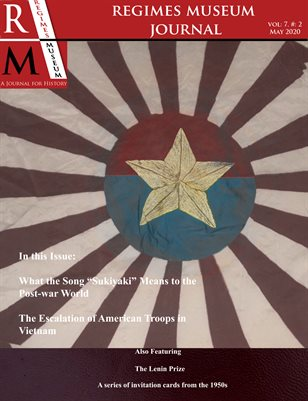 Regimes Museum Journal Volume 7, Issue 2