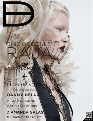 Dark Beauty Magazine - ISSUE 9 - Winter '11 (Deluxe)
