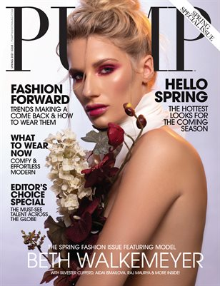 PUMP Magazine | The Ultimate Fashion and Beauty Issue | Vol.1 | March 2021