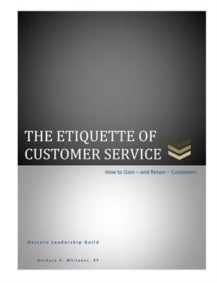 The Etiquette of Customer Service