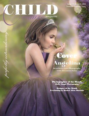 Child Couture Magazine Issue 7 Volume 11 2021 Summer Blooms
