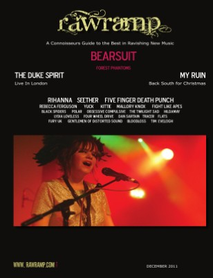 Raw Ramp Music Mag December 2011 Issue