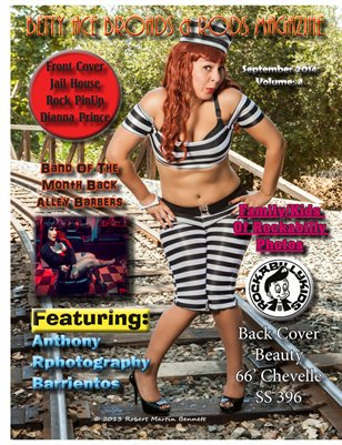 Betty Ace Broads & Rods Magazine September Edition Vol:4