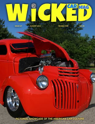 WICKED CAR MAGAZINE AUGUST ISSUE 1941 CHEVY PICK UP