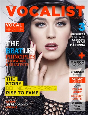 THE VOCALIST MAGAZINE (SPRING 2015 ISSUE)