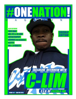 #OneNation! Magazine issue #8 (Jan/Feb 2014)