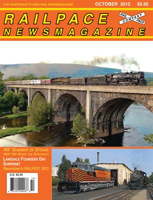 OCTOBER 2012 Railpace Newsmagazine