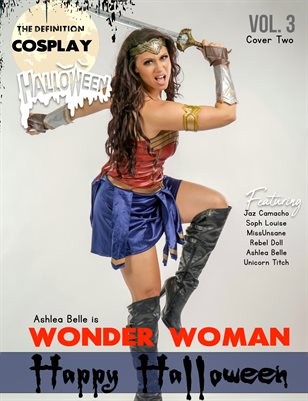 TDM Cosplay : Ashlea Belle Halloween 2020 Vol.3 Cover 2