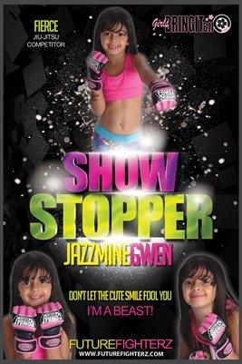 Jazzmine Gwen Show Stopper - Poster