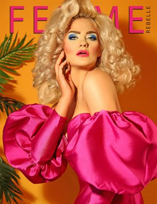 Femme Rebelle Magazine JANUARY 2018 - BOOK 3 - Aly Sky Cover