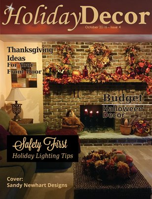 Holiday Decor Magazine - October 2016