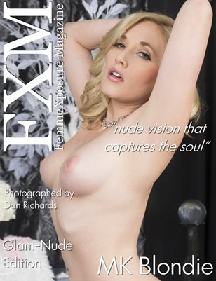 FemmeXpoure® Magazine August 2018 Issue # 72 Cover Model: MK Blondie