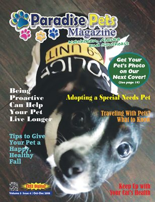 Paradise Pets Magazine, Ketchikan, AK  Vol. 3 Issue 4 Oct-Dec 2018