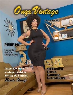 Onyx Vintage Magazine Volume 4 (December 2016)