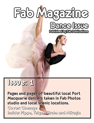 Fab Magazine Dance Issue 1