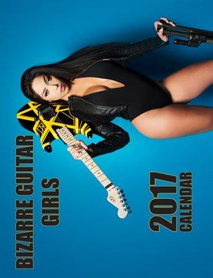 Bizarre Guitar Girl Calendar