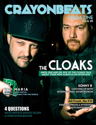 CrayonBeats Magazine: Issue 05 (The Cloaks cover)