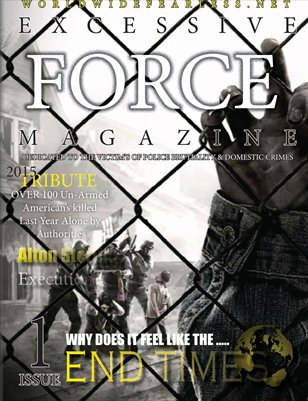 EXCESSIVE FORCE MAGAZINE #1