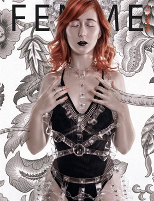 Femme Rebelle Magazine October 2018 BOOK 2 - Sanne van Bergenhenegouwen Cover