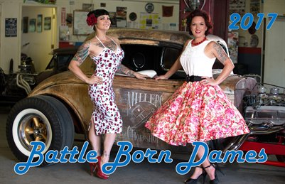 Battle Born Dames Art