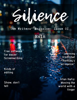 Silience: The Writers' Magazine (Issue 01)
