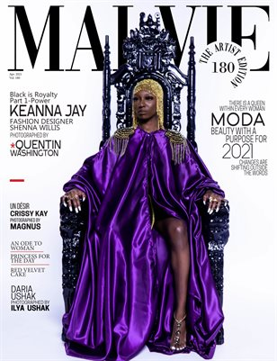 MALVIE Magazine The Artist Edition Vol 180 April 2021