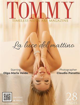 Olga-Maria Veide - La luce del mattino - Claudio Panatta