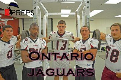 """Ontario Jaguars """"Weight Room"""""""