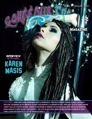 Issue 47 Cover Model: Karen Masis