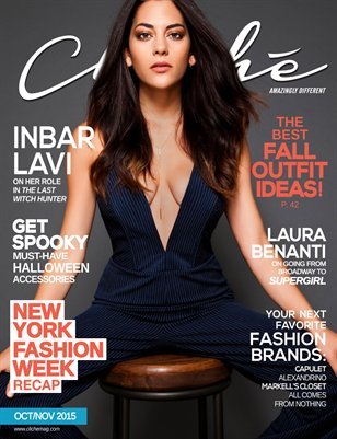 Cliché Magazine - Oct/Nov 2015 (Inbar Lavi Cover)