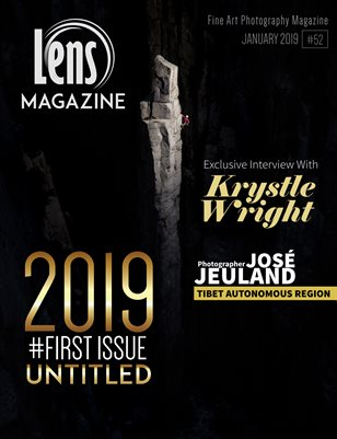 Lens Magazine Issue #52. 2019 First Issue