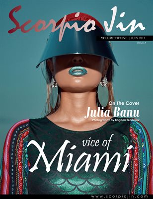 SCORPIO JIN MAGAZINE VOLUME TWELVE | JULY 2017 | ISSUE A