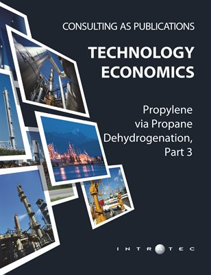Propylene via Propane Dehydrogenation, Part 3