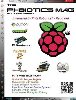 Pi-Biotics Magazine - Edition 1, 02-06-2013