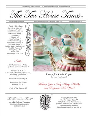 The Tea House Times Jan/Feb 2012 Issue