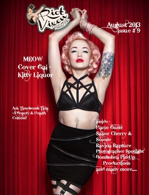 Riot Vixen Magazine Issue #9 August