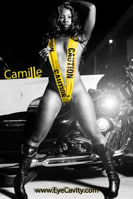 Camille's 12X18 DOUBLE Sided Biker Poster