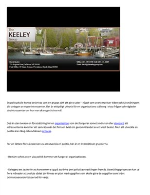 The Keeley Consulting Group - Fa grunderna i utvecklingspolitik in Singapore