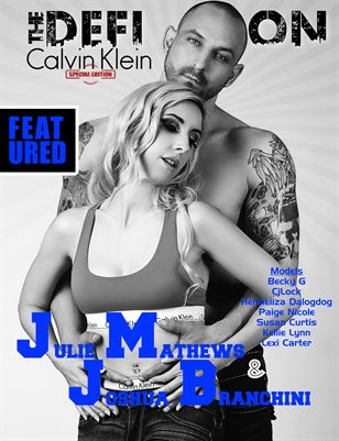 TDM: Calvin Klein Issue 2a - Julie Mathews & Joshua Branchini Cover