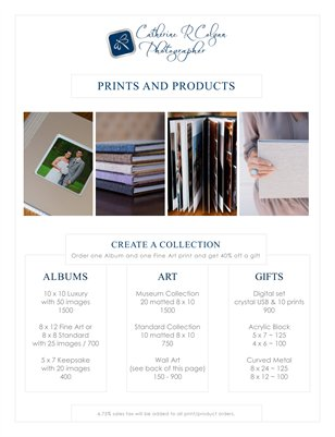 2016 Print & Product Pricing