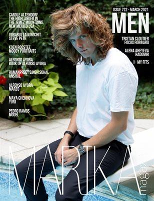 MARIKA MAGAZINE MEN (ISSUE 722 - MARCH)