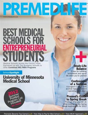 PreMedLife Magazine - March/April 2012